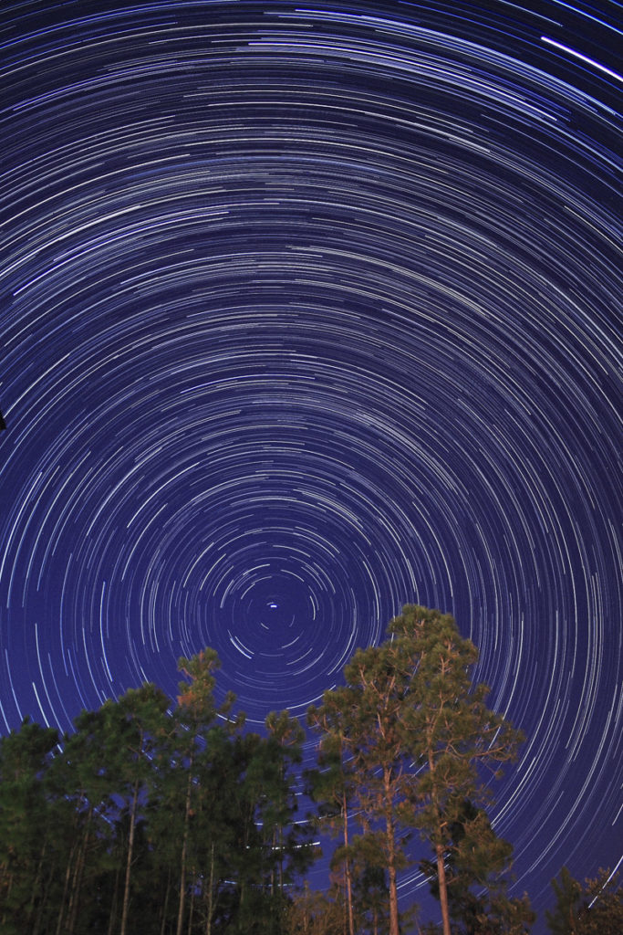 Star Trails Exposure Time of 120 Minutes
