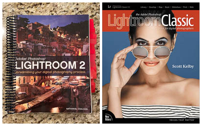 Instructional Books on Adobe Lightroom
