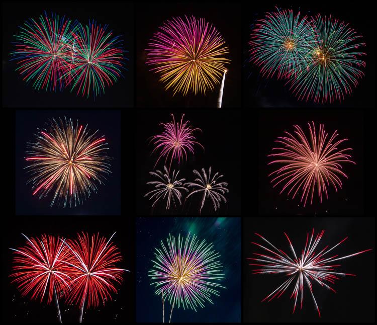 Fireworks Blasts