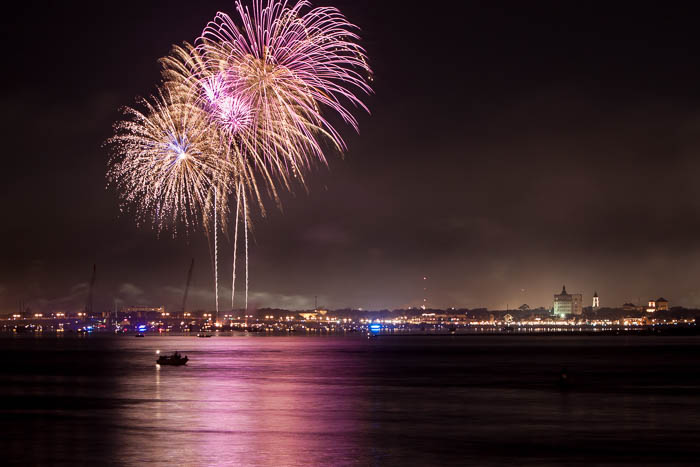 4th of July Celebration over St. Augustine, Florida