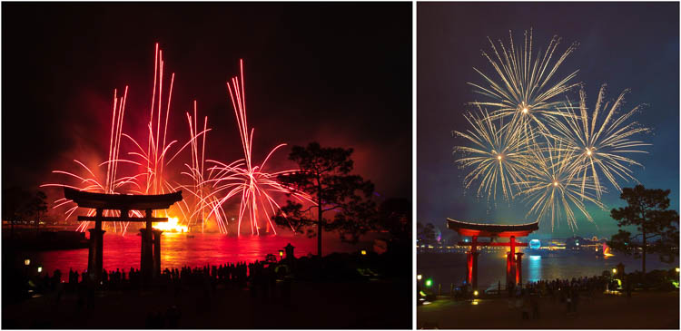 """Illuminations"" over EPCOT, Walt Disney World"
