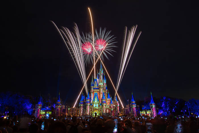 """Happily Ever After"" over Magic Kingdom, Walt Disney World"