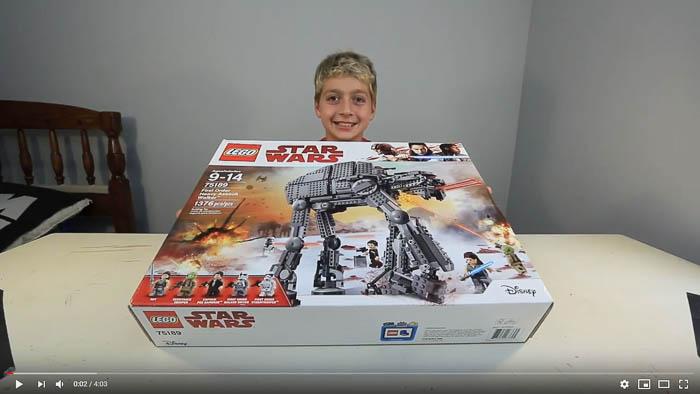 lego speed build 75189