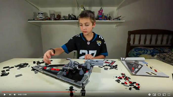 lego speed build 75190